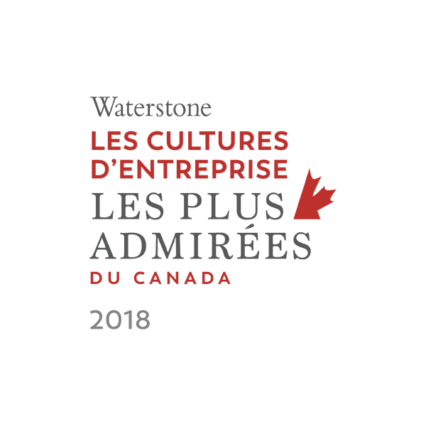 Waterstone Canada's Most Admired Corporate Cultures 2018 Logo